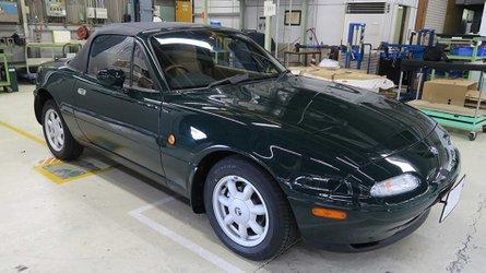 Mazda miata factory restoration starts at 40k