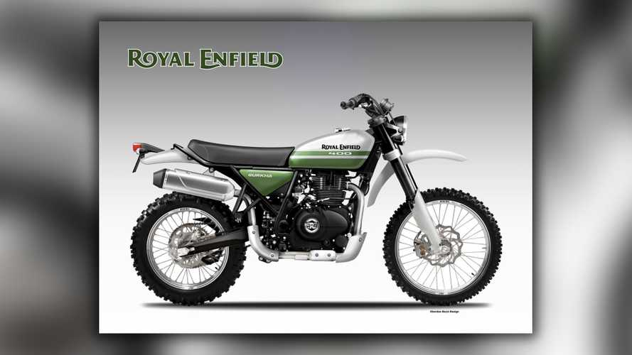 What If Royal Enfield Made A Scrambler?