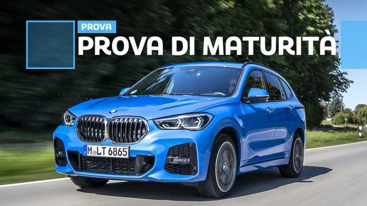 BMW X1, la prova su strada