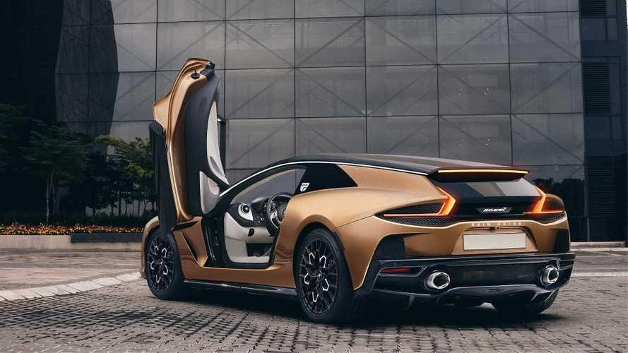 McLaren GT Shooting Brake Rendering