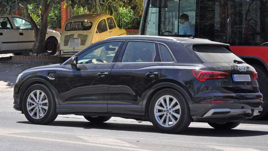 Mysterious Audi Q3 Test Mule Spotted With Charging Inlet