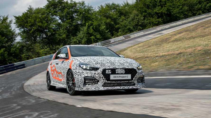 Hyundai i30 N Project C 2019: teaser de un compacto aligerado