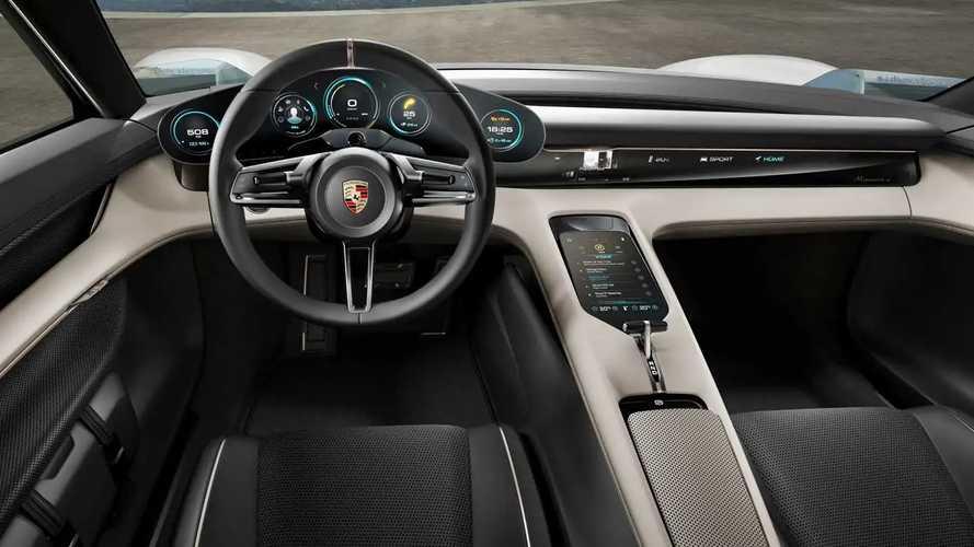 Концепт Porsche Mission E 2015 года