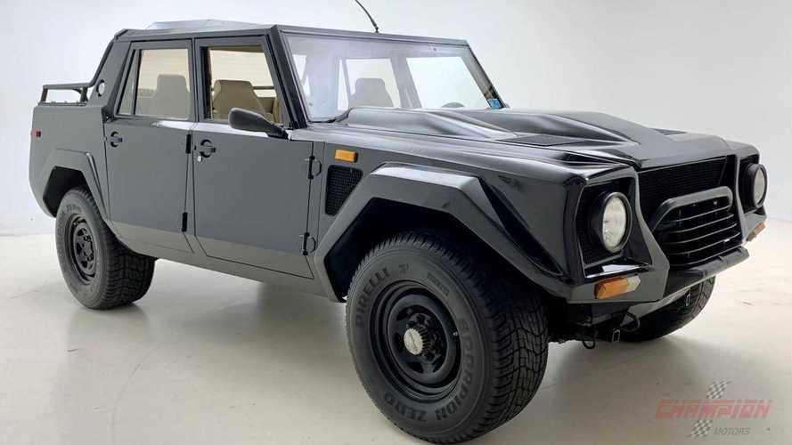 Add This 1989 Lamborghini LM002 To Your Collection For $369K