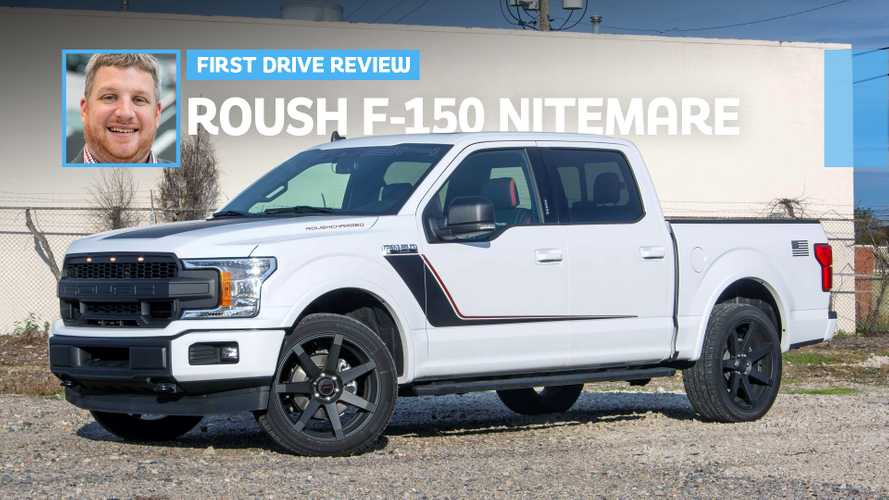 2019 Roush F-150 Nitemare First Drive: Wicked Quick