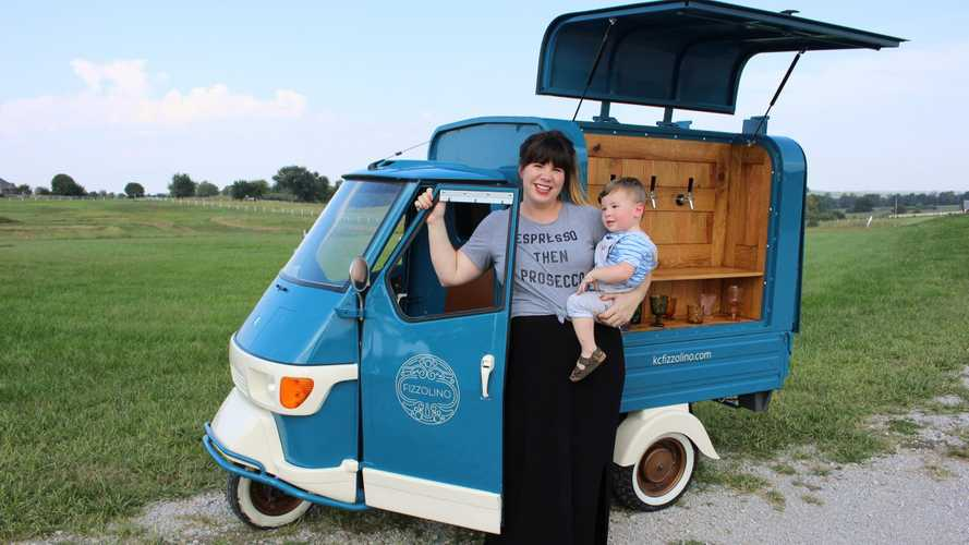 Meet Fizzolino, The World's Most Adorable Wine Truck