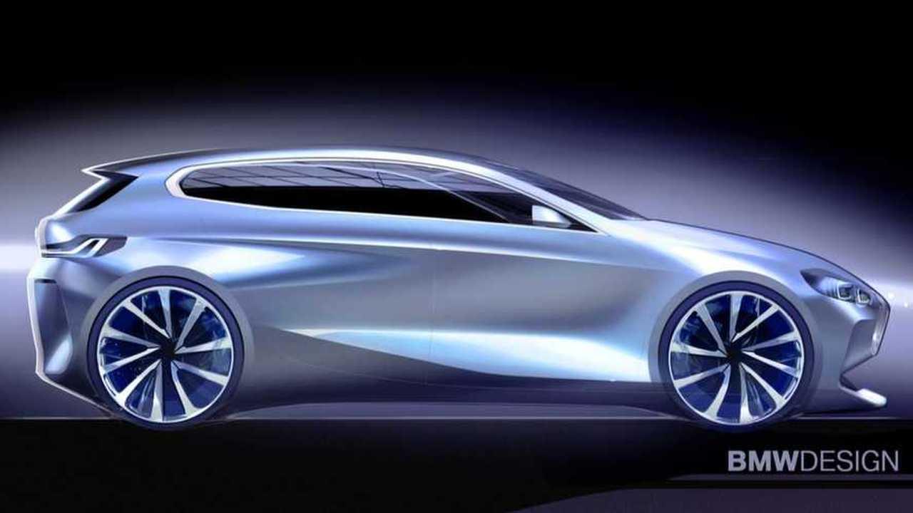 2020 BMW 1-es sorozat vázlatkép