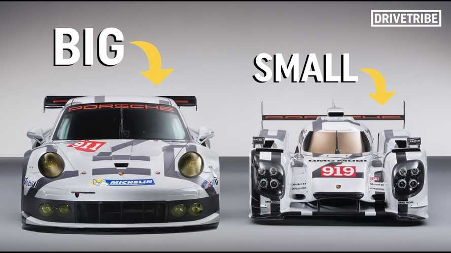Here's Why Race Cars Are Actually Smaller Than You Might Think