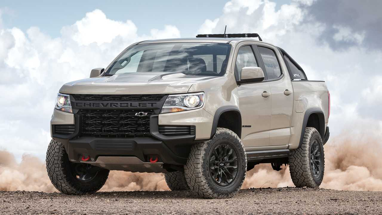 2021 Chevrolet Colorado Debuts With More Distinct Looks