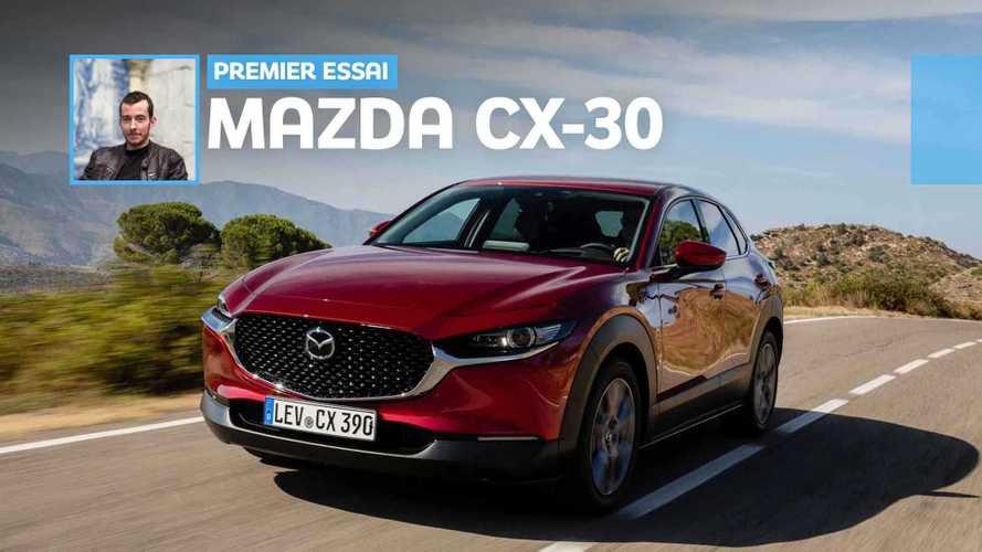 Essai Mazda CX-30 (2019) – Convaincant mais pas enthousiasmant