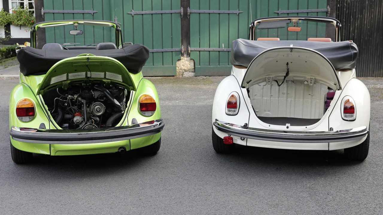 VW aiuta il retrofit di uno scarabeo originale con il progetto eKäfer