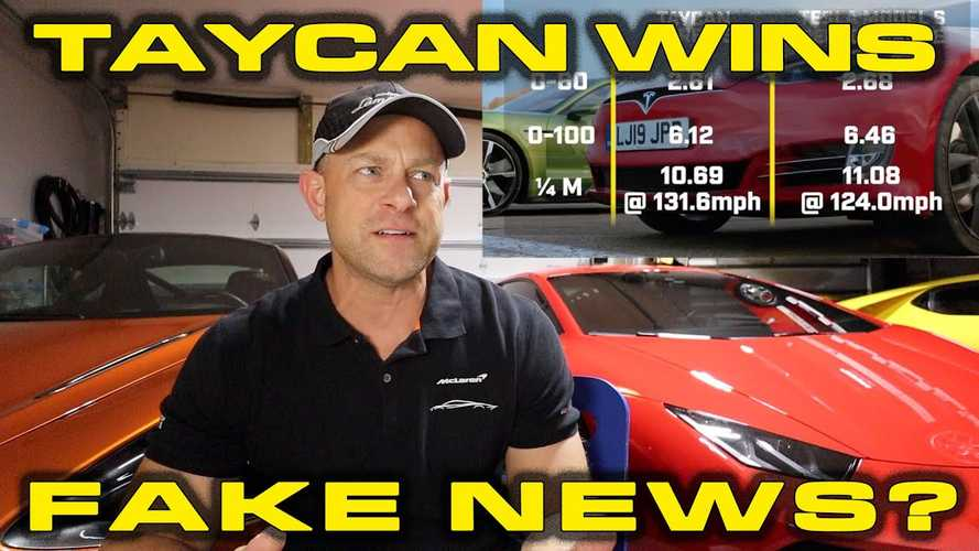 UPDATE: Was Tesla Vs Taycan Race Faked By Top Gear?