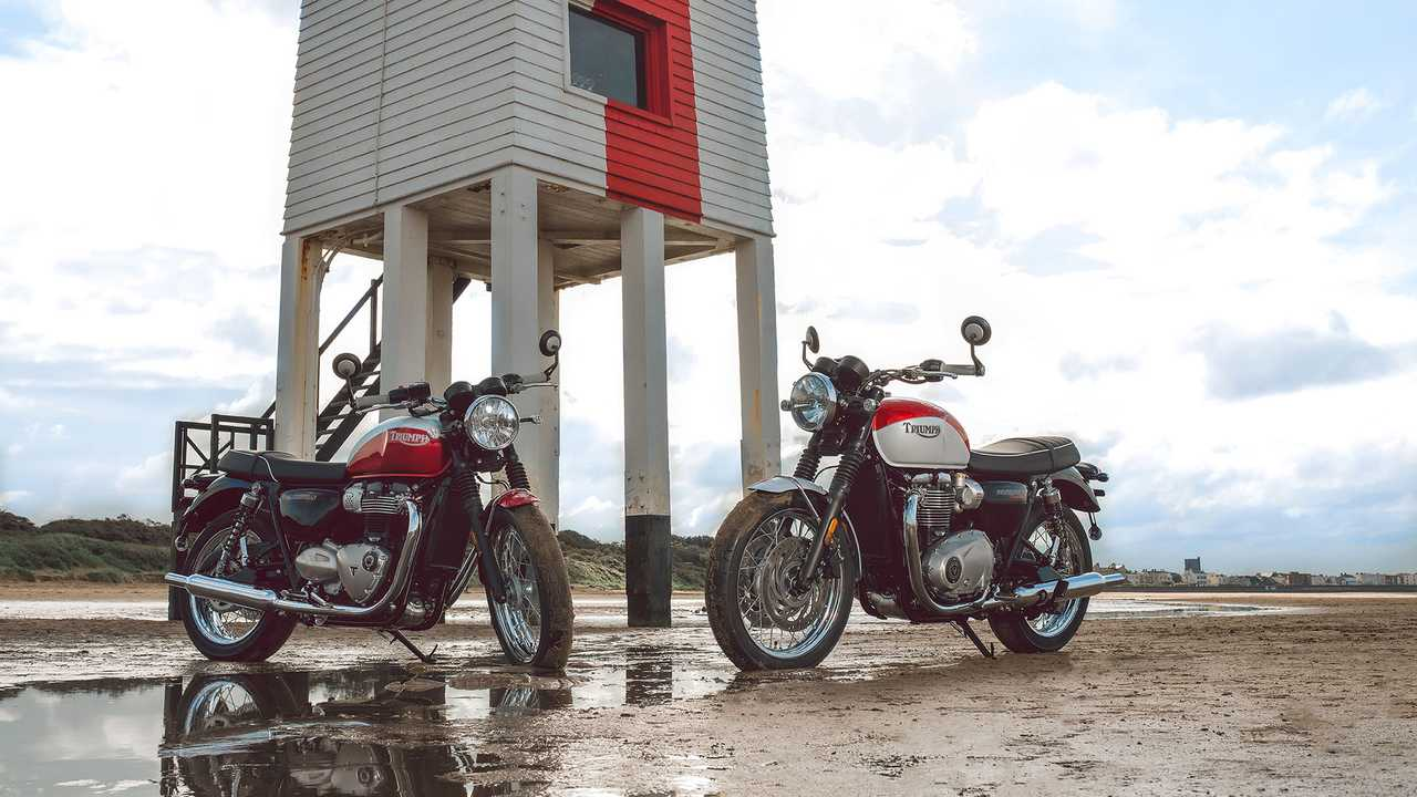 Triumph Bonneville T100 And T120 Bud Ekins
