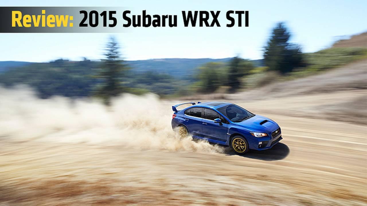 Review: 2015 Subaru WRX STI