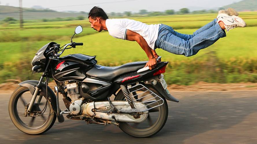Is Motorcycle Yoga a Thing?