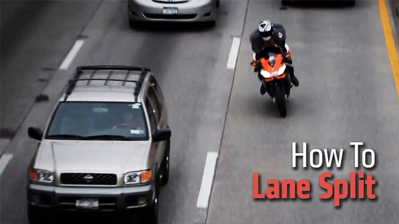 How To Lane Split