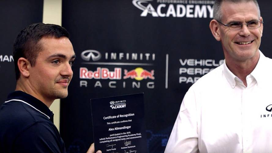 Infiniti Grants F1 Internship to 22-year-old Student