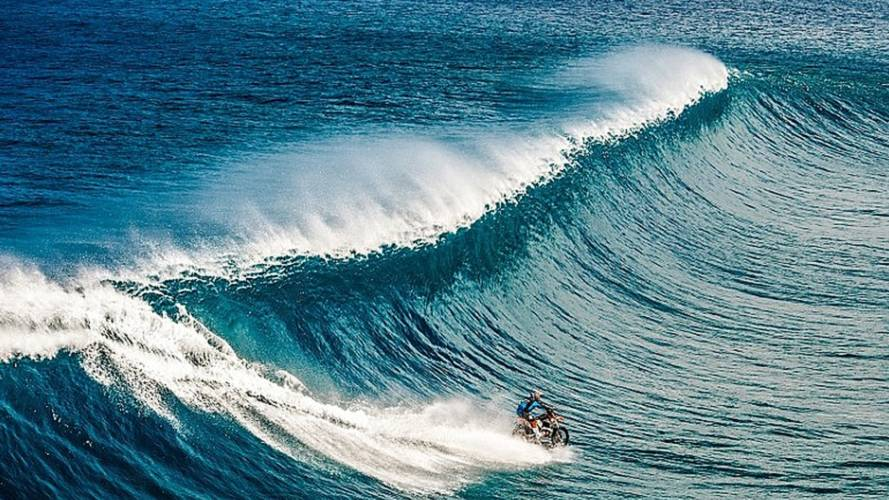 Watch the Three Part Series of How Robbie Maddison Rode His Motorcycle on Water