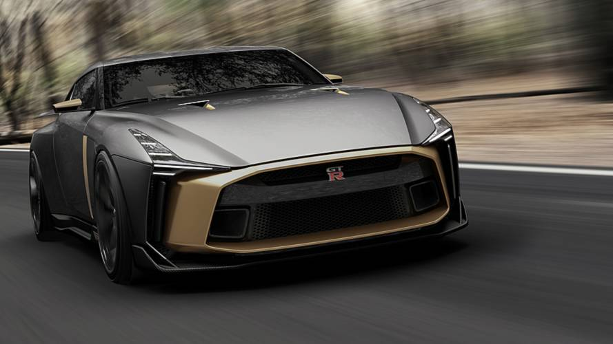 Nissan GT-R50 by Italdesign, tanti auguri Godzilla