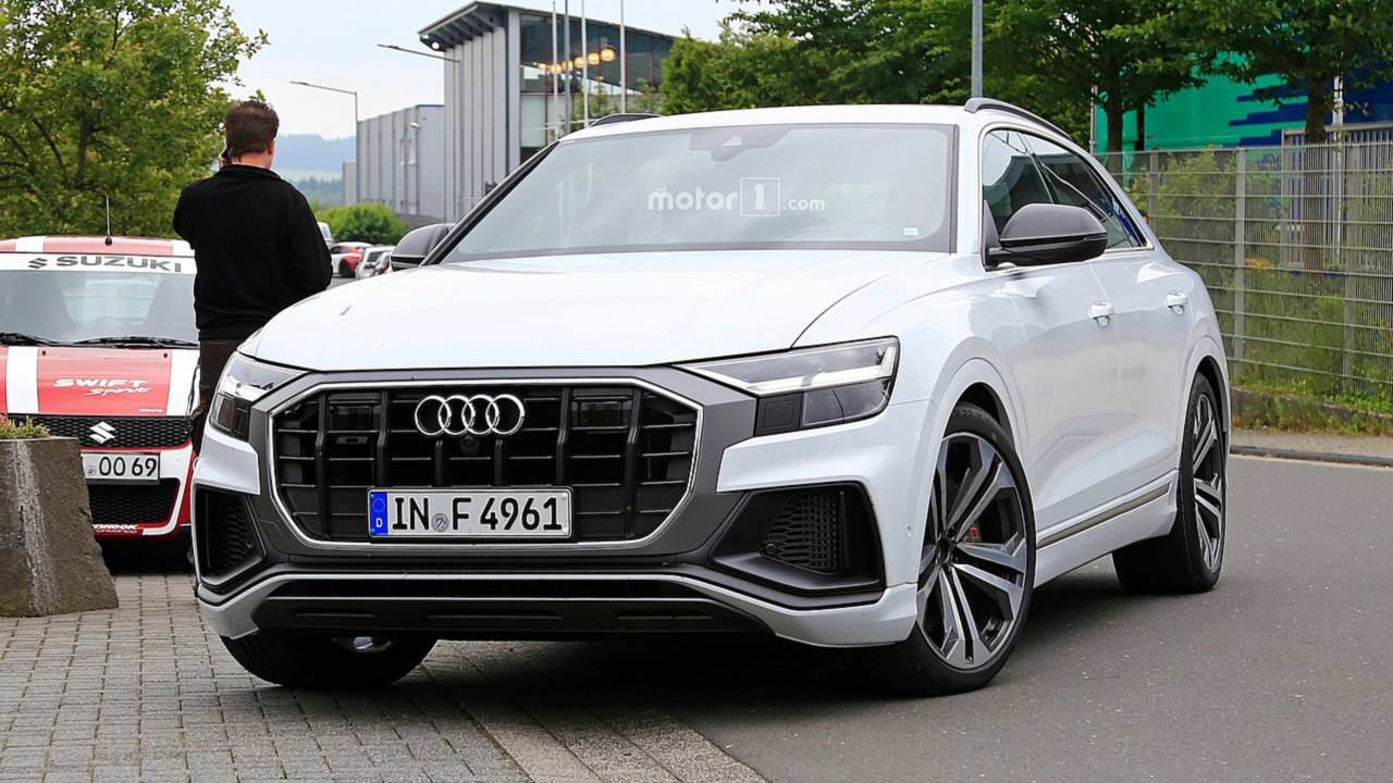 Audi Sq8 Could Be Offered With Both Gasoline And Diesel Engines