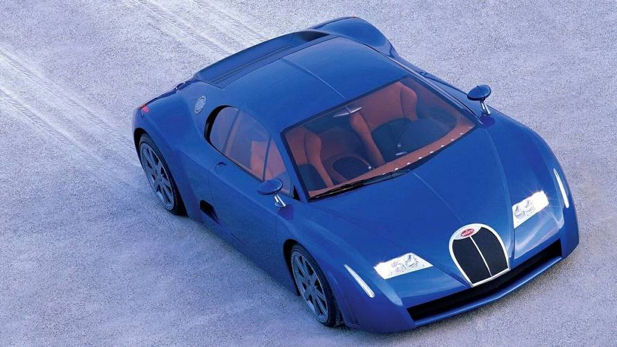 1999 Bugatti 18/3 Chiron: забытые концепт-кары