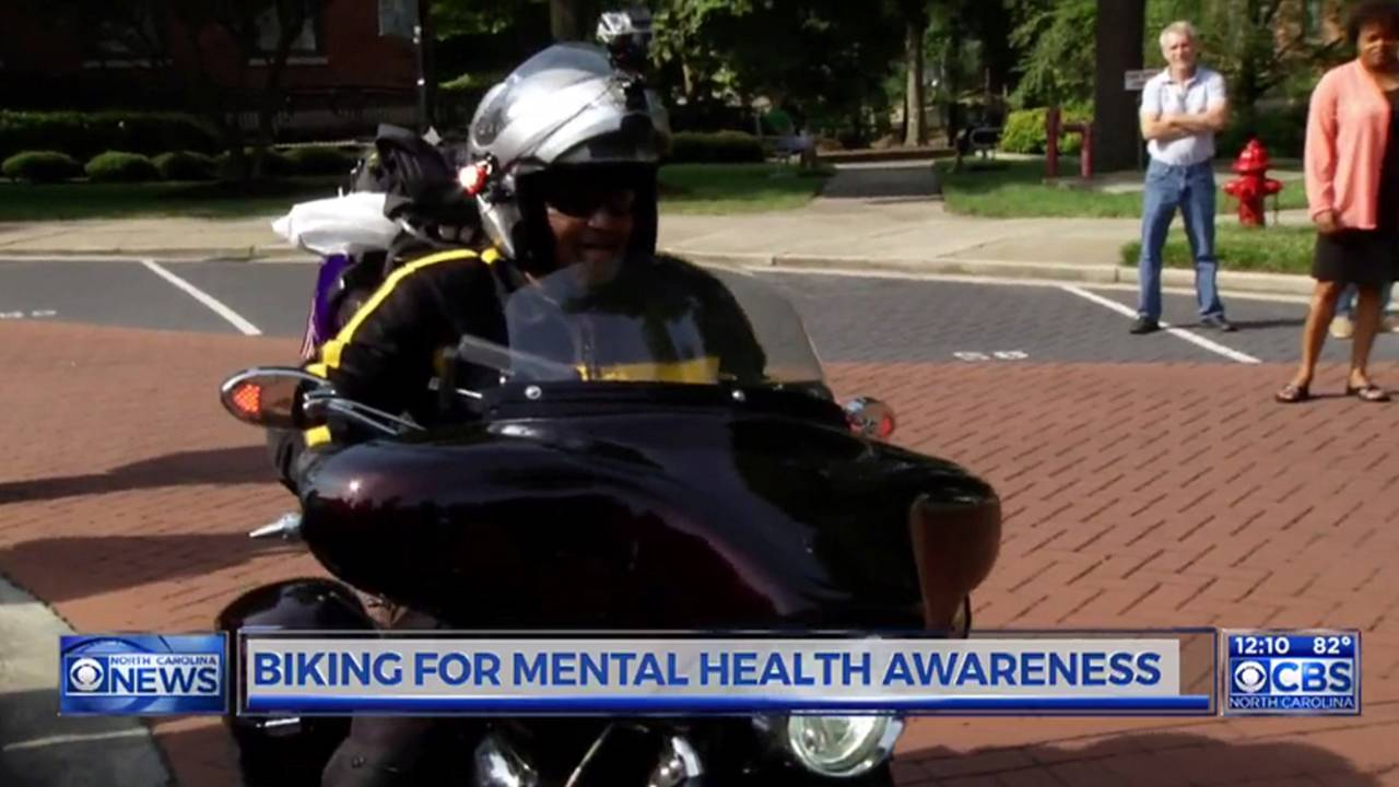 College Professor Rides Cross Country for Mental Health
