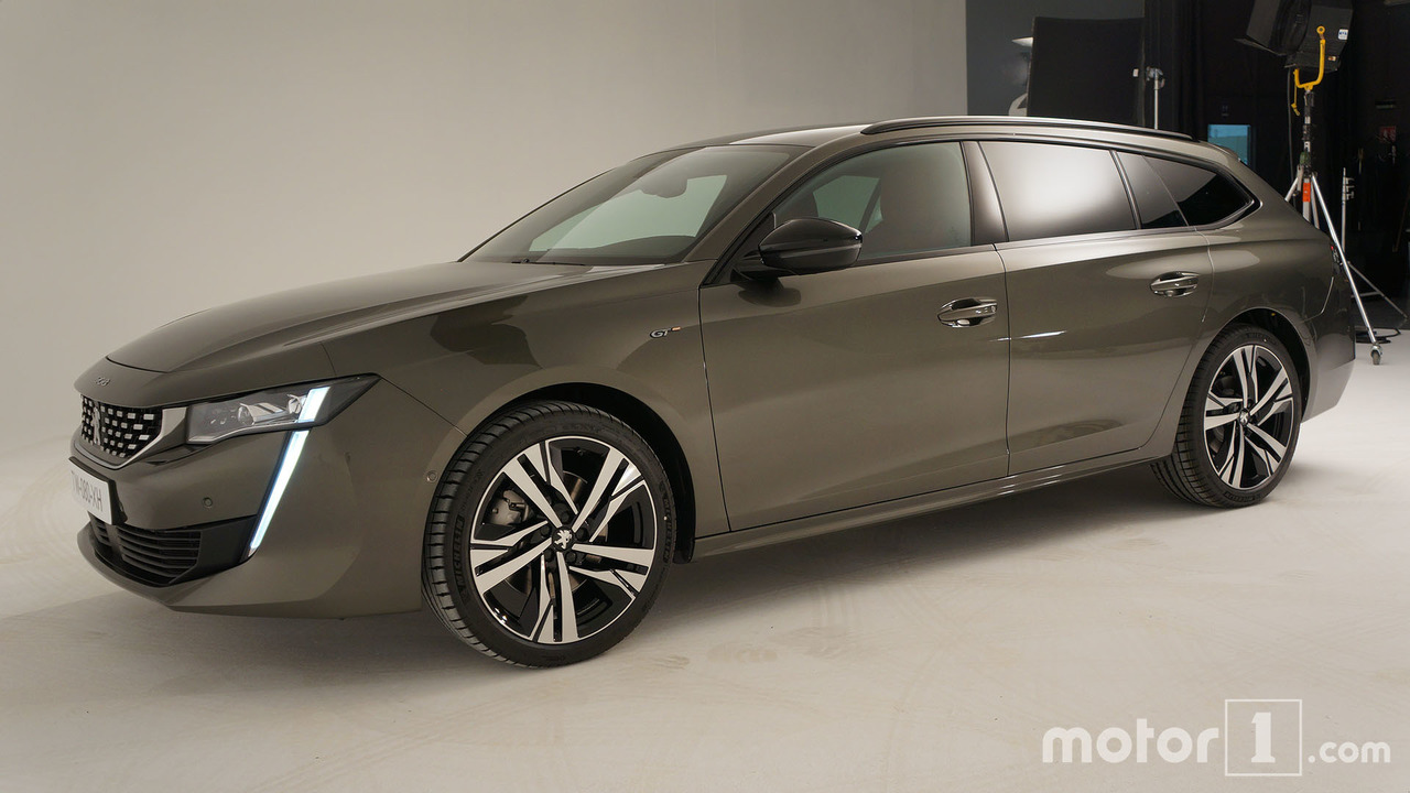 Peugeot 508 SW Debuts In All Its Wagon Glory