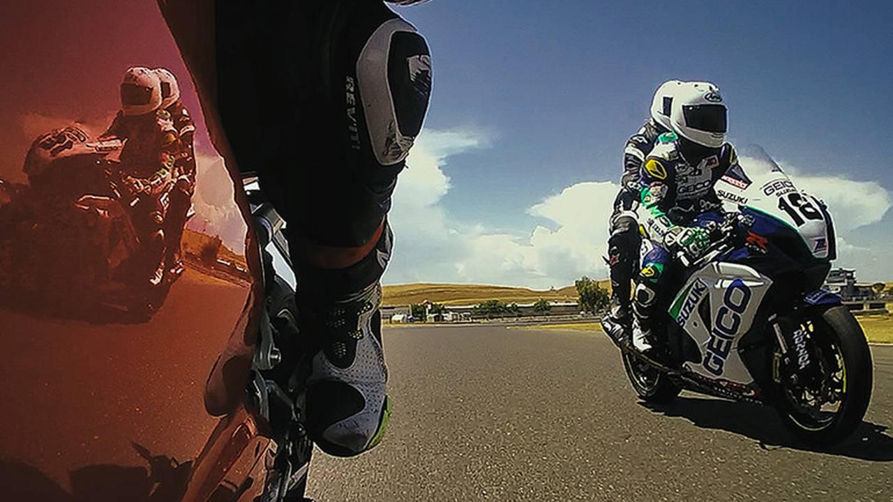 Laps with Pros and the New Arai Corsair-X Race Helmet: VIDEO