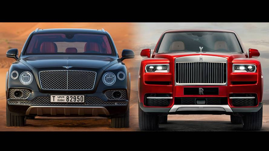 Comparatif - Rolls-Royce Cullinan vs Bentley Bentayga