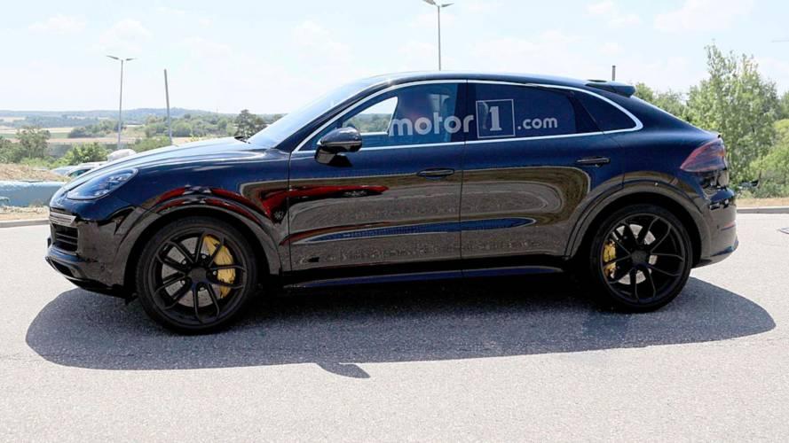 Porsche Cayenne Coupe ilk kez görüntülendi