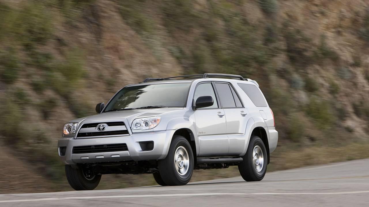 10. Toyota 4Runner –13,019 miles