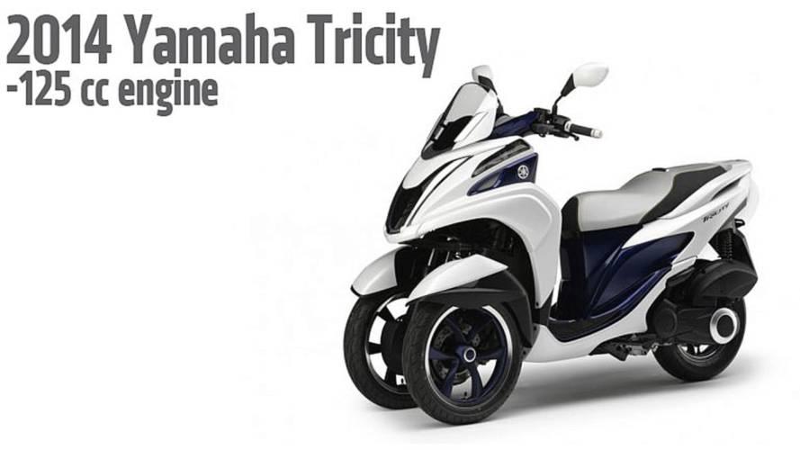 2013 EICMA: 2014 Yamaha Tricity Scooter
