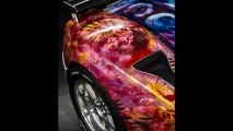 Pagani Zonda S als Farbkunstprojekt