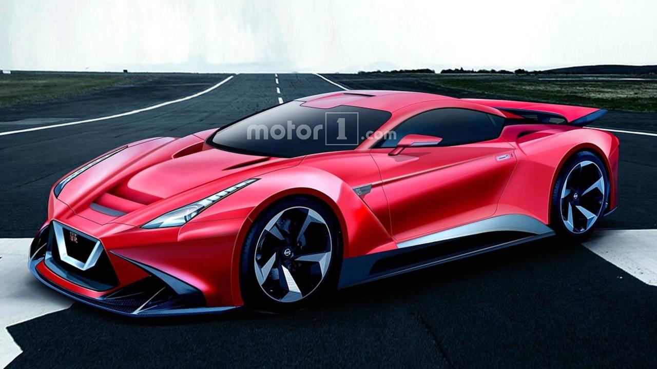 Nissan GT-R R36 render