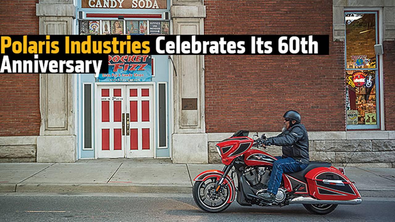 Polaris Industries Celebrates Its 60th Anniversary