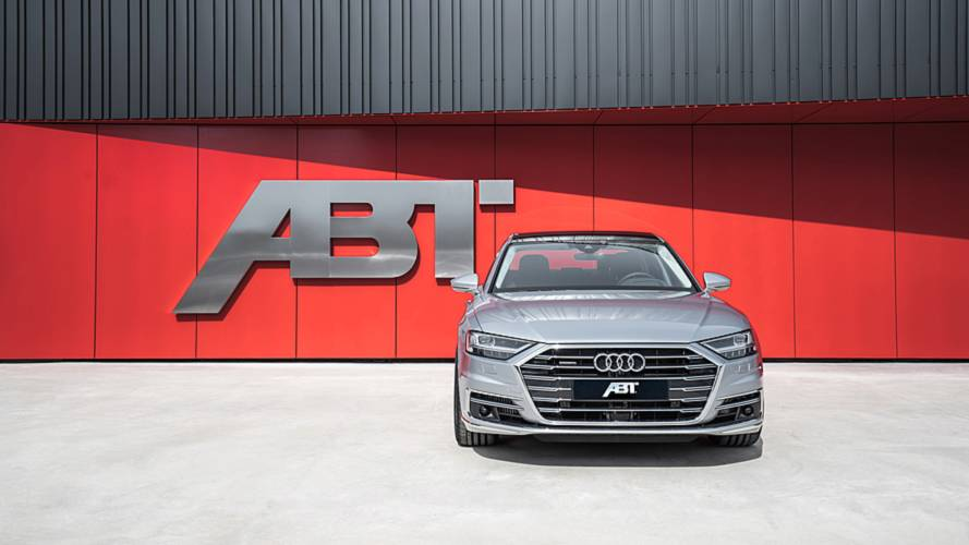 ABT Modifiyeli Audi A8