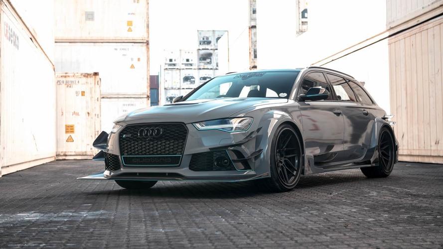 Karbonfiber gövdeli bu muhteşem Audi RS6 Avant'a bir göz atın