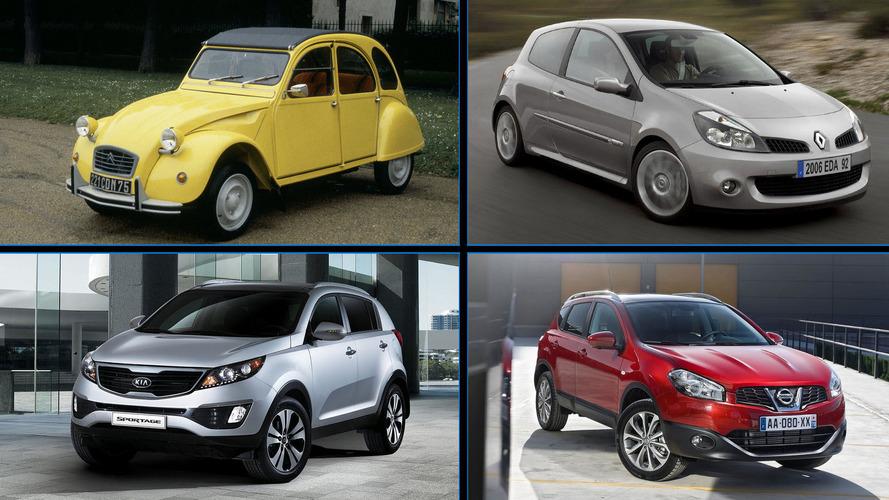 Los coches más vendidos de 20 marcas