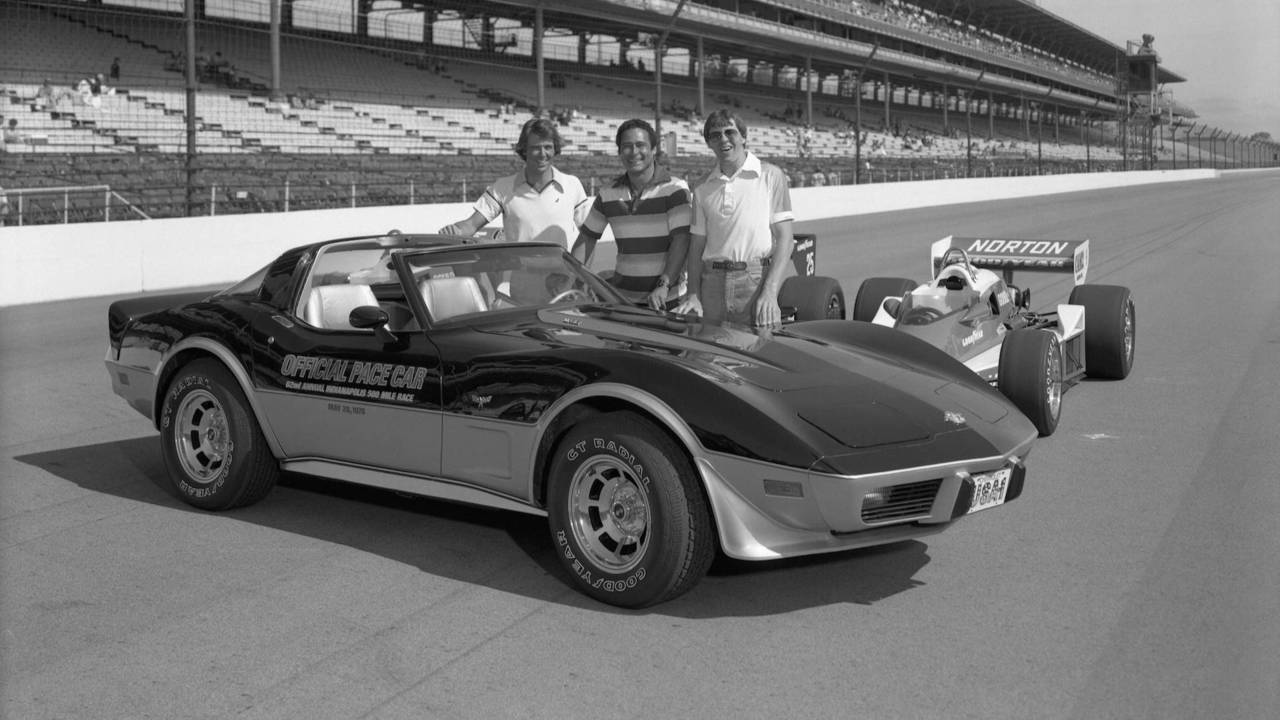 15 Best Indy 500 Pace Cars Of All Time 1978 Chevrolet Camaro Black Corvette