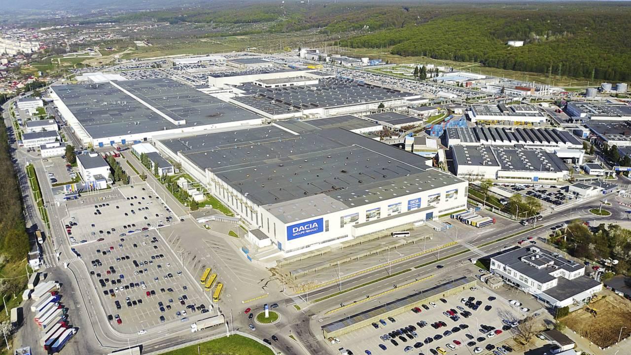 Dacia fabbrica Mioveni