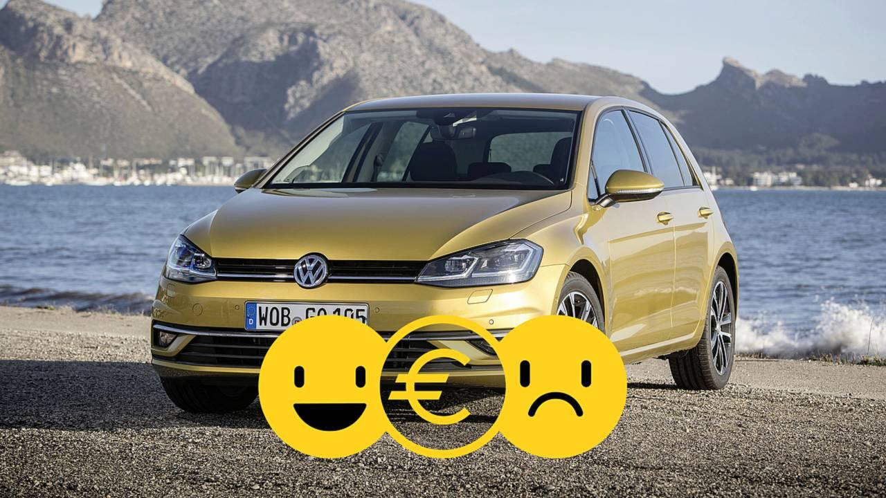 Promozione Volkswagen Golf noleggio lungo ternine