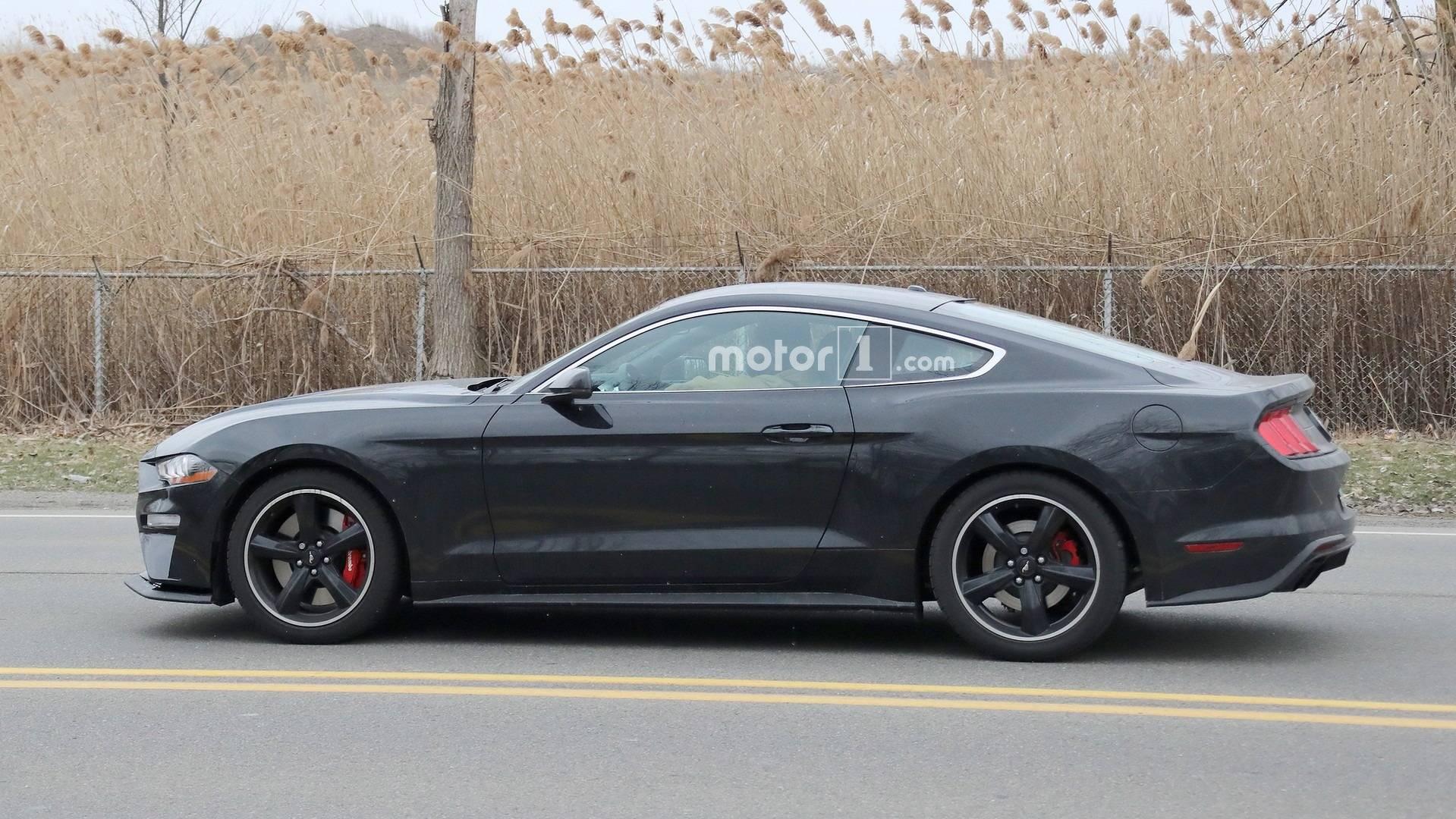2019 Ford Mustang Bullitt Spied On The Street Update