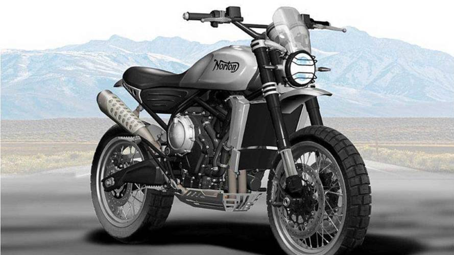 Norton 650 Atlas Scrambler Concept Renders Revealed
