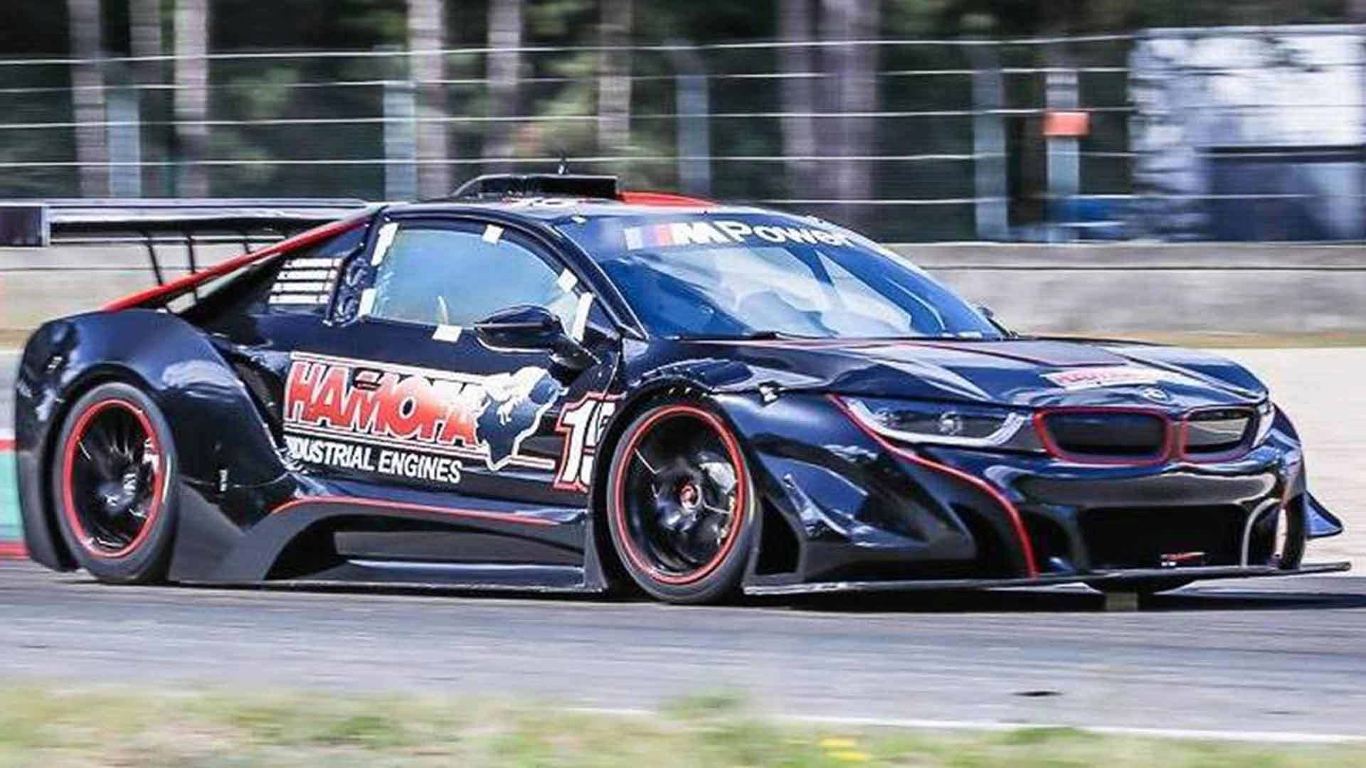 Bmw I8 Race Car Ditches Hybrid For 540 Hp V8