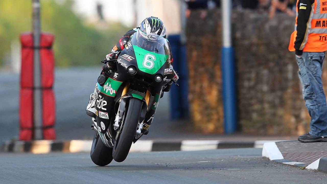 Dunlop and Harrison Fastest in Practice - IoM TT Begins