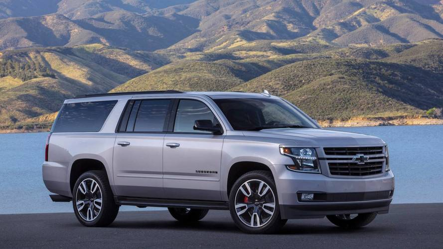 2019 Chevy Suburban RST Gets A More Powerful V8, Meaner Looks