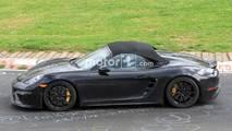 Porsche 718 Boxster Spyder Nürburgring casus fotoğraf