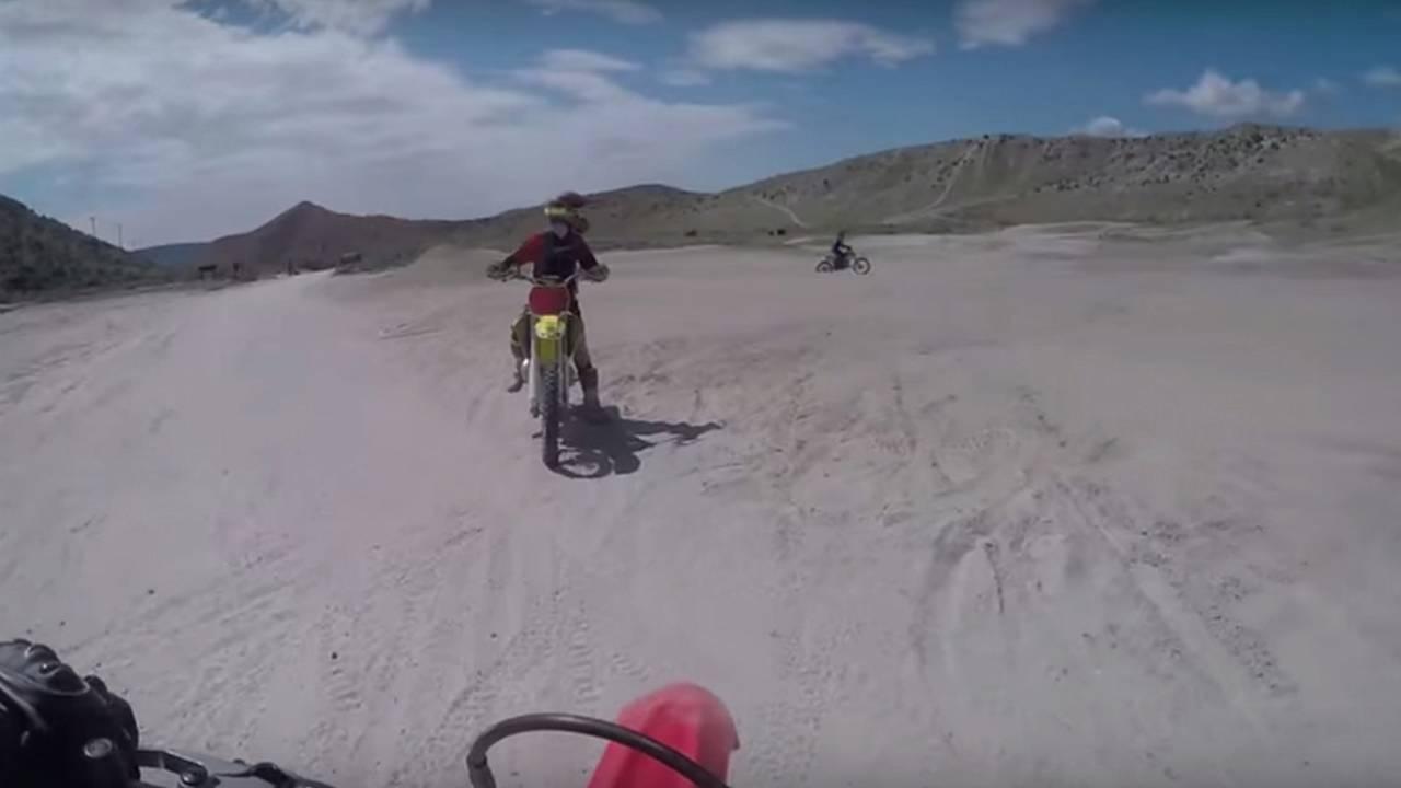 Dirt Adventures On A Honda CRF230F & Husqvarna TC125 — Video of the Day