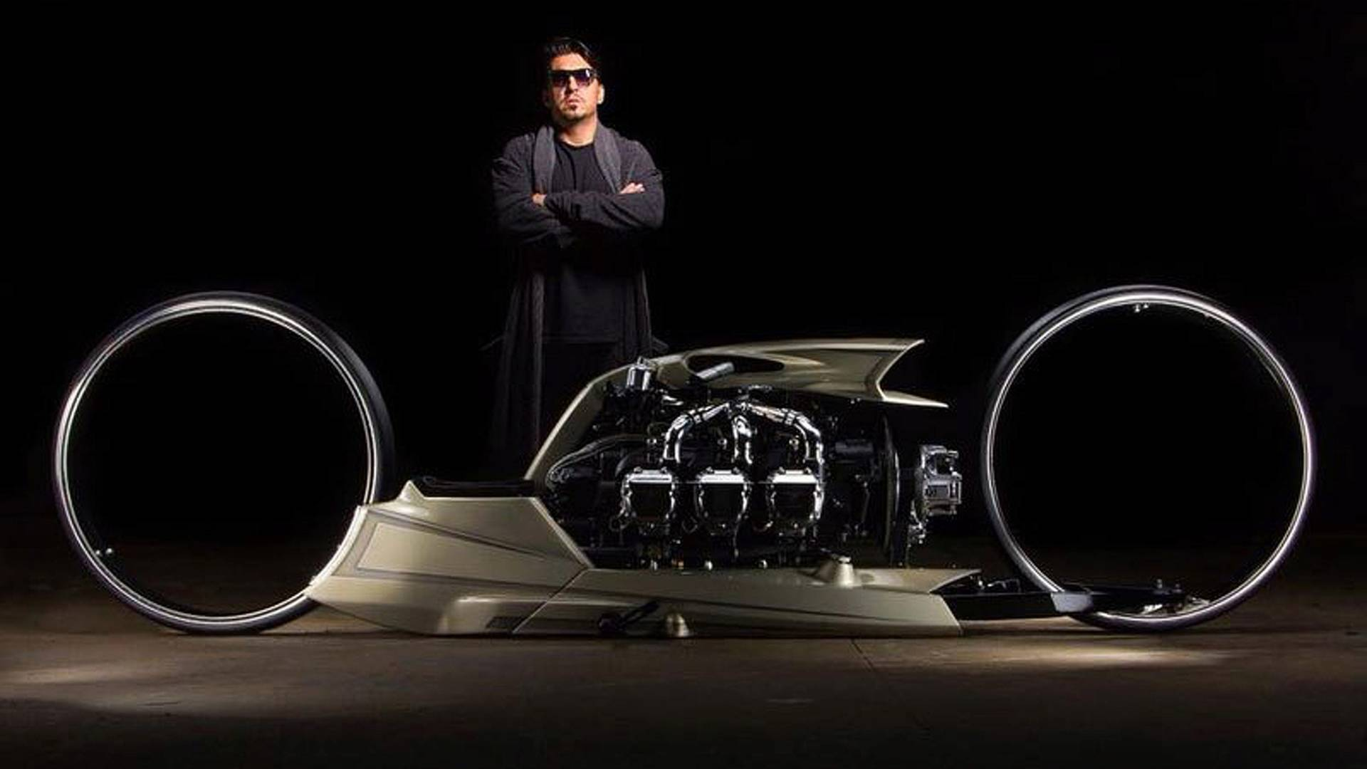 Insane Airplane Engine Motorcycle Concept