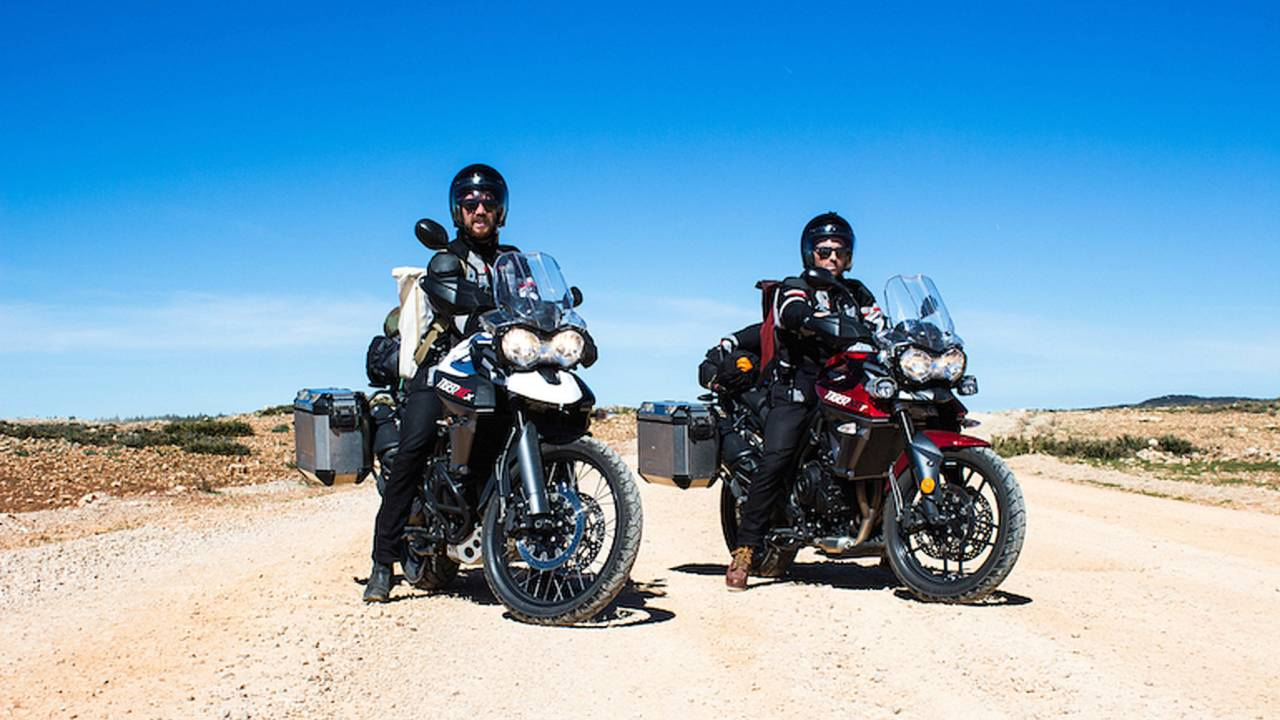 Step 1: Learn How to Ride; Step 2: Ride to Morocco